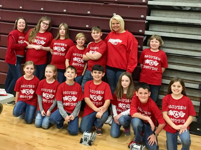 Oakview Robotics team