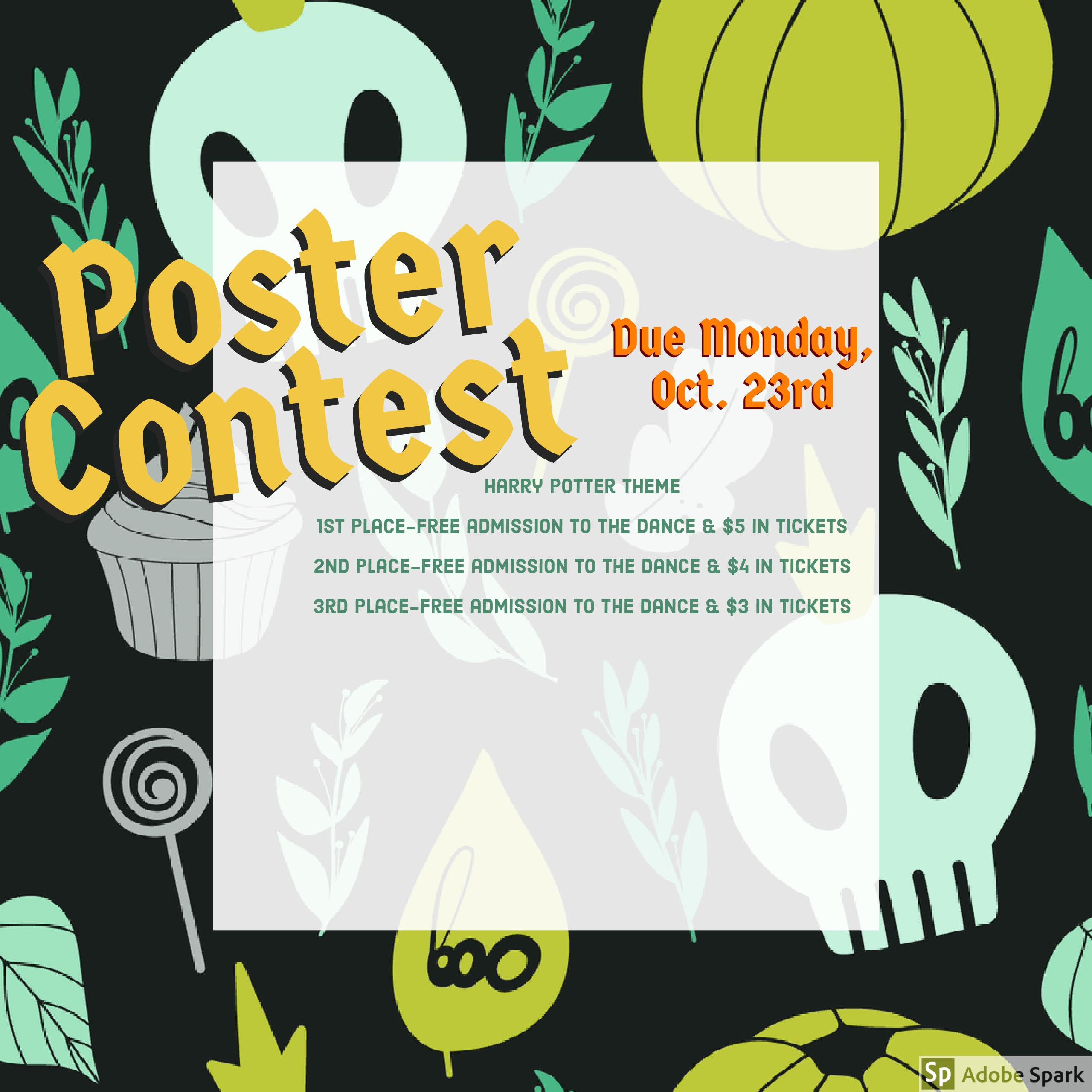 Poster Contest for Harry Potter Week/Dance