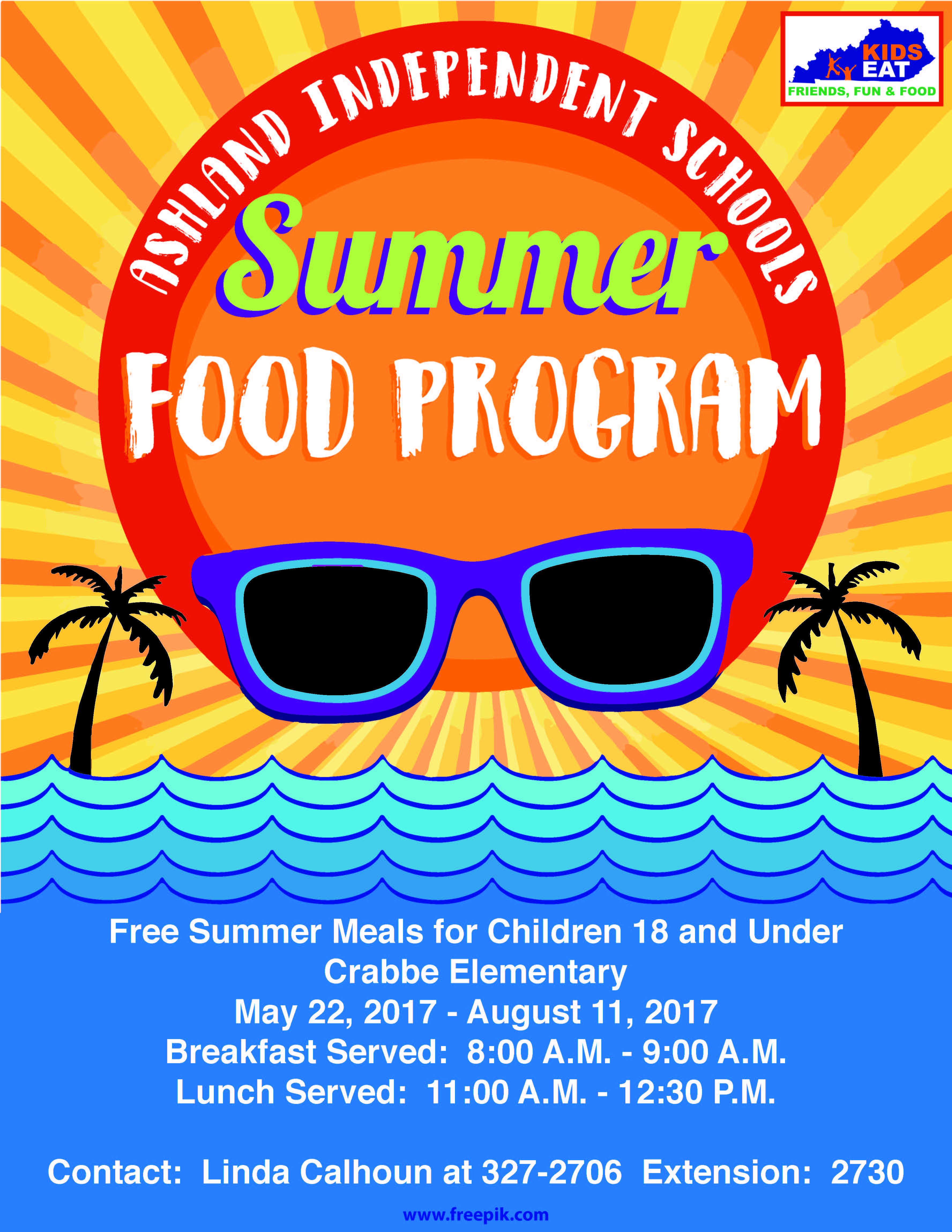 Summer feed program flyer