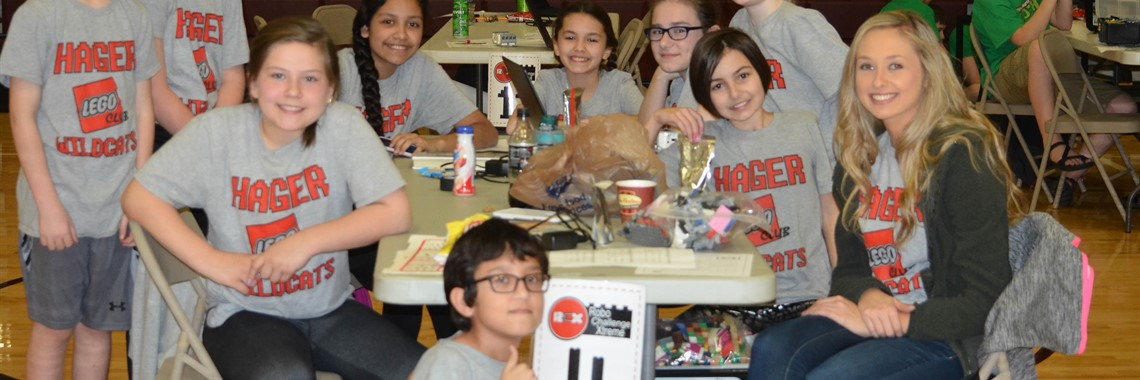 Hager Elementary Robotics Team competed in the Regional competition.