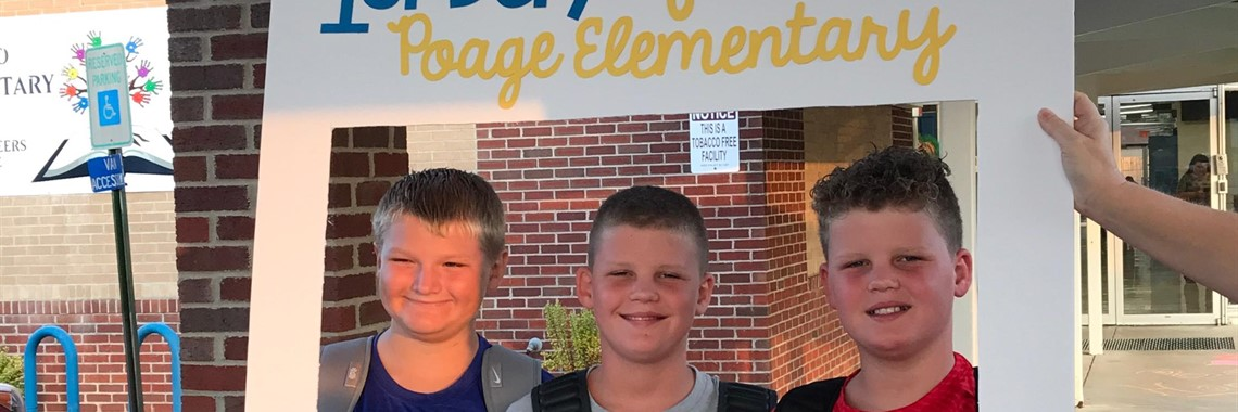 First Day 5th Graders