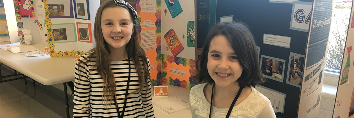 Students from Oakview Elementary participate in the 2018 ACTC-FIVCO Science Fair.