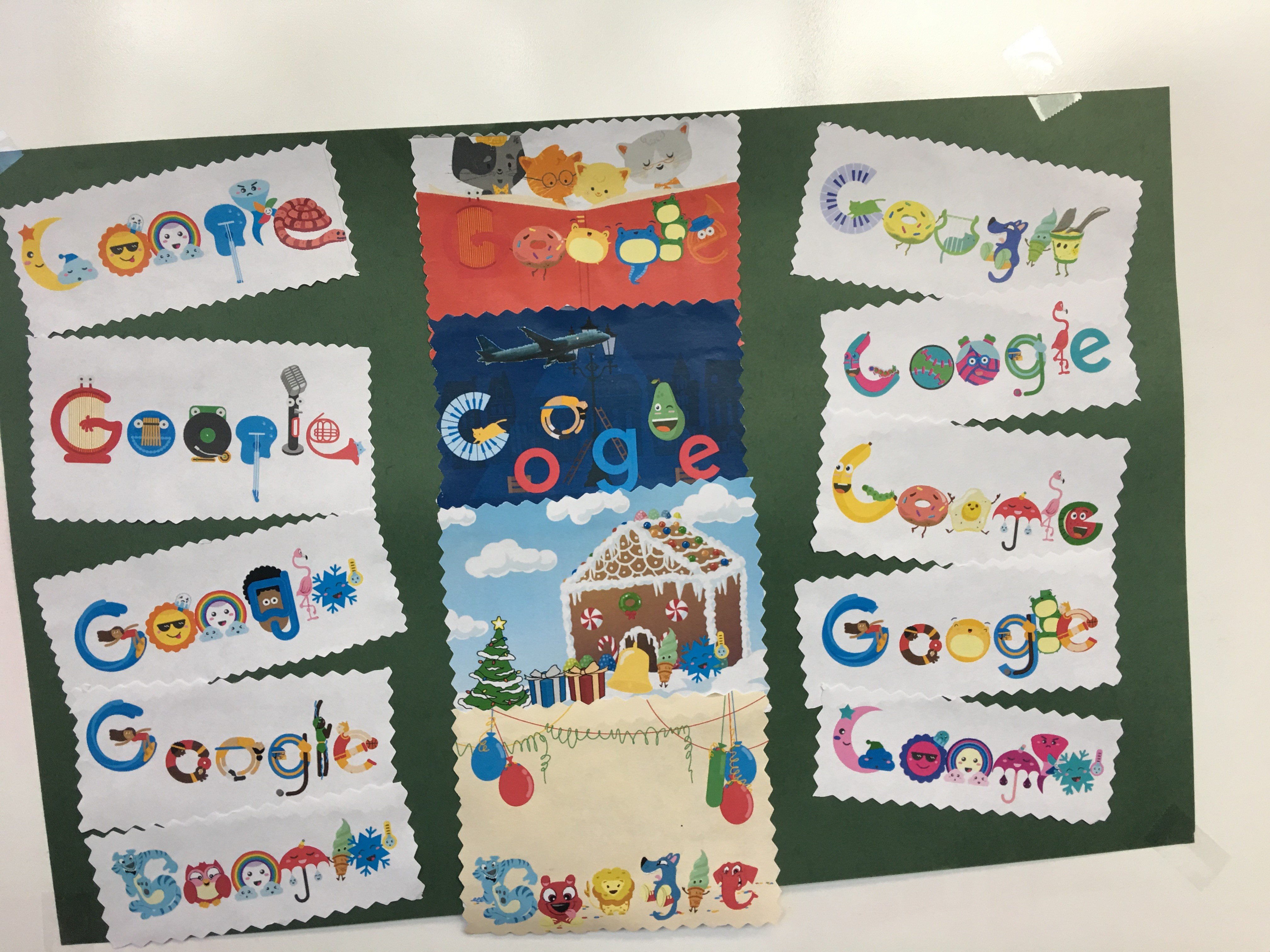 3rd-5th Grade Google Doodle Coding Creations